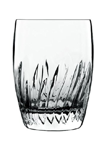 Luigi Bormioli Incanto Double Old Fashioned Glass, 11.75-Ounce, Set of 4
