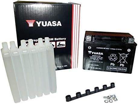 Yuasa YUAM6215L YTX15L-BS Battery