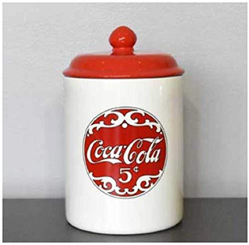 youngs Inc Ceramic Coca Cola Cookie Jar, Multi