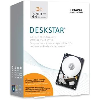 HGST Deskstar 3.5-Inch 3TB 7200RPM SATA III 6Gbps 64MB Cache Internal Hard Drive (0S03086)