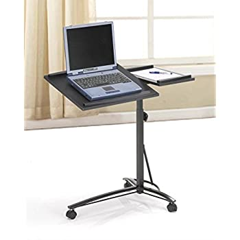 amazon com black desks laptop computer stand with