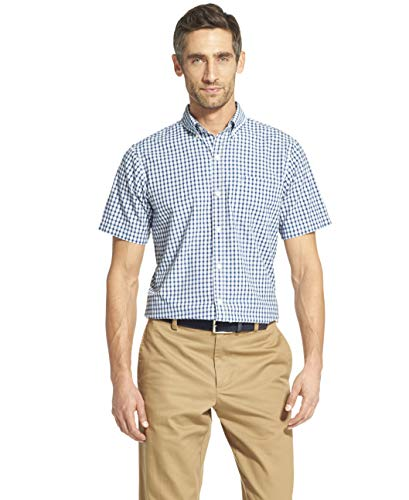 IZOD Men's Breeze Short Sleeve Button Down