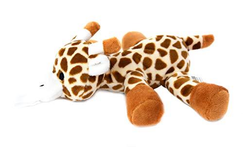KINREX Giraffe Pacifier Holder for Newborn - Baby Soothie Stuffed Animal Toy - Measures 18 cm. - 7.09