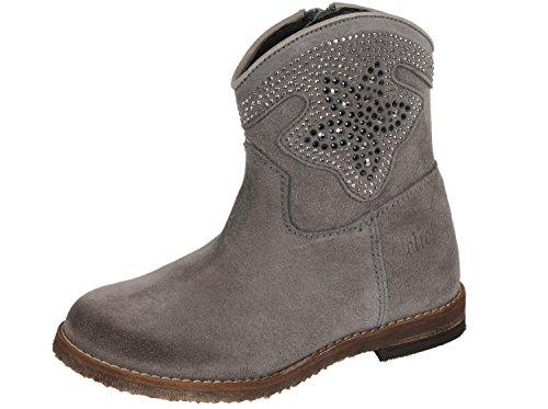 clic! CL-8754 DE Cowboy Stiefeletten Boots für Mädchen Beige (Taupe)