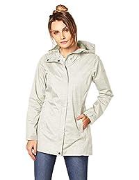 Columbia Women's Splash A Little Rain Jacket, Sea Salt Dotty Dye Print, X-Small