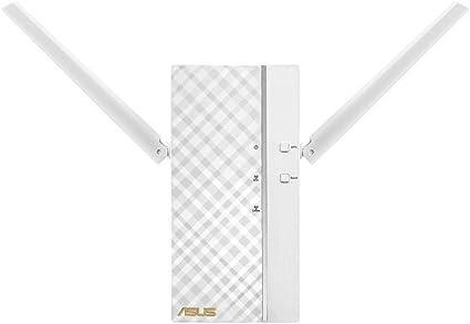 ASUS AC1750 RP-AC66 - Repetidor Inalámbrico Dual-Band Gigabit (modo punto de acceso, hasta 1750 Mbps, porto RJ45 BaseT para LAN, 64 MB RAM), Blanco: Asustek: Amazon.es: Informática
