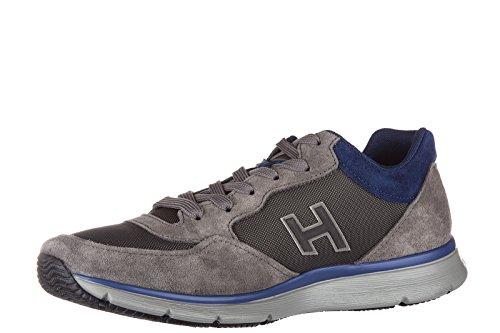 Hogan Herenschoenen Suede Sneaker Sneakers Traditioneel 2015 H Flock Grijs
