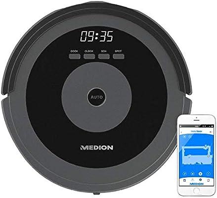 MEDION Robot Aspirador MD 17225 Negro: Amazon.es: Electrónica