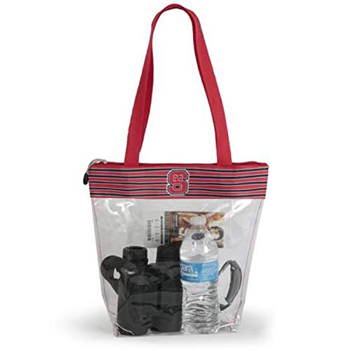 Desden North Carolina State Wolfpack Clear Gameday Stadium Tote Bag R42
