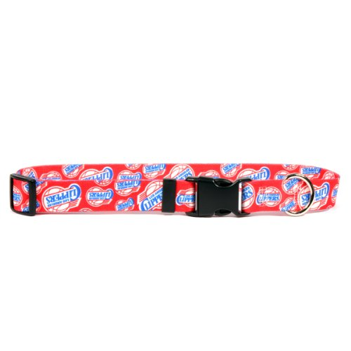 Yellow Dog Design Los Angeles Clippers 10-Feet to 14-Feet Collar, Small