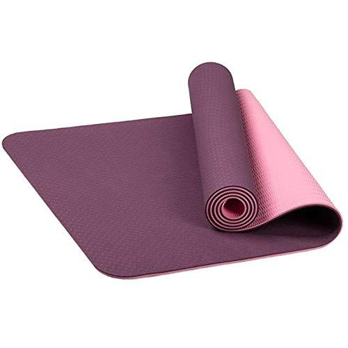 Pilates Tapis de Yoga pour Camping, Housse de Transport antidérapante Absorbant la Sueur, étirement et entraînement à la…