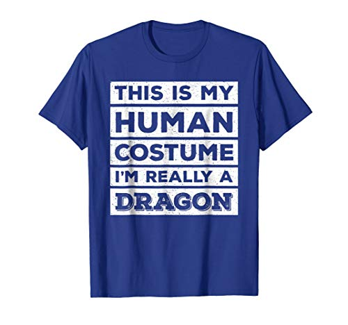 Breathing Dragon T-shirt Fire (Human Costume Dragon Fire Breathing Beast Wings T-Shirt)
