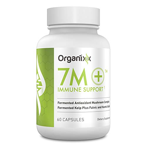 Organixx 7M+ Complete Immune Defense Supplement – Powerful Blend of 7 Nutritional Mushrooms Turkey Tail, Chaga, Shitake, Cordyceps, Lions Mane, Reishi (60 Veg. caps)