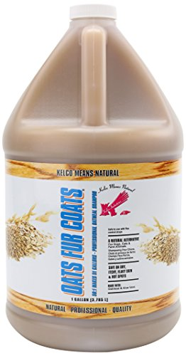 Kelco 50:1 Oats Fur Coats Shampoo Gallon ()
