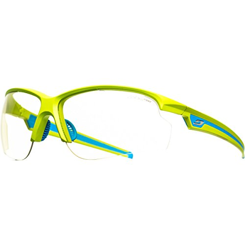 cbcc34c681ce32 Julbo Ultra Performance Sunglasses, Zebra Light Lens, Apple Green Blue