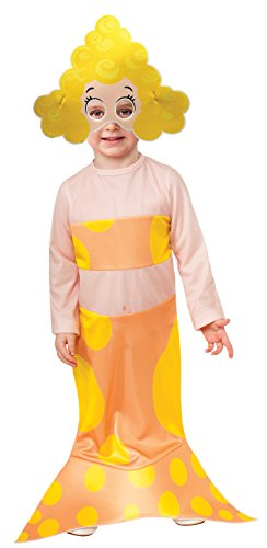 Bubble Guppies Costumes (Rubies Bubble Guppies Deema Costume, Toddler Size)