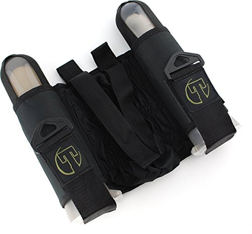 Tippmann Sport Series 2+1 Harness, Black w/140 Round Tippmann Tubes by Tippmann