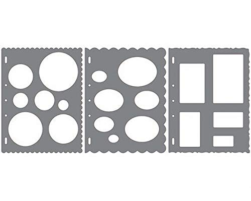 Fiskars 497570973-Pack No. 1 ShapeTemplate Tool -