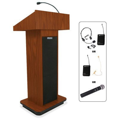 (APLSW505 - AmpliVox Wireless Executive Sound Column Lectern)