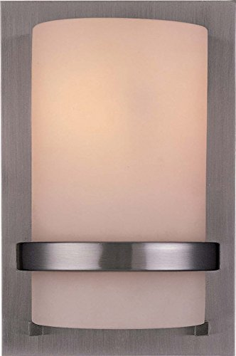 Minka Lavery 342-84 1 Light Wall Mount, Brushed Nickel