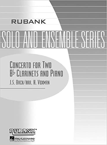 Concerto For Two B-flat Clarinets And Piano