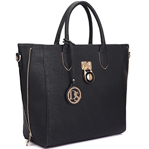 Dasein Women's Designer Wings Satchel Handbag Shoulder Bag Work Briefcase Tote Without ()