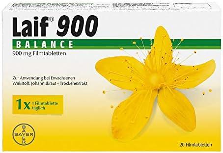 Laif 900 Balance Filmtabletten, bei Antriebslosigkeit, innerer Unruhe und seelisch bedingten Schlafstörungen, 20 Stück