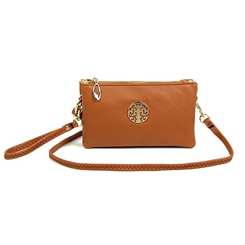 Pochette pour Marron femme LONDON VIVA 6RwqnBOx