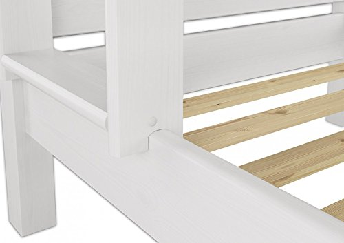 Etagenbett Nischenhöhe : Erst holz  w etagenbett für erwachsene weiß cm
