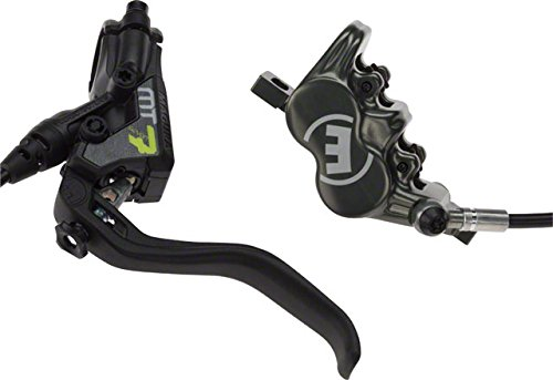 Magura USA MT7 Next Disc Brake Black/Neon Yellow, Left or Right, 2000mm Hose by Magura