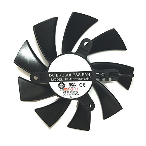 PLA09215B12H DC 12V 0.55A 4Pin For Msi N460GTX N560GTX 570 580GTX HD6870 Graphics Video Card Fans (1 Pcs)