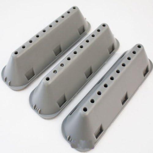 Indesit Tambor de lavadora de paletas para lavadora de 10 orificios Paquete de 3