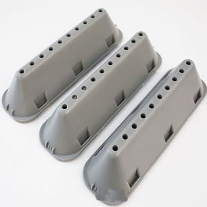 Genuine Indesit Hotpoint Washing Machine 12 Hole Drum Paddles Lifters 3 Pack