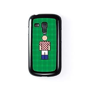 Croatia Black Hard Plastic Case for Samsung? Galaxy S3 Mini by Blunt Football International + FREE Crystal Clear Screen Protector wangjiang maoyi by lolosakes