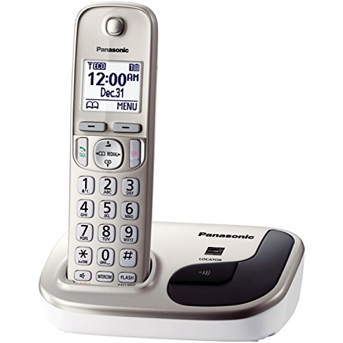 Panasonic KX-TGD210N DECT 6.0 1.9 GHz Expandable Digital - One Line Portable Phone