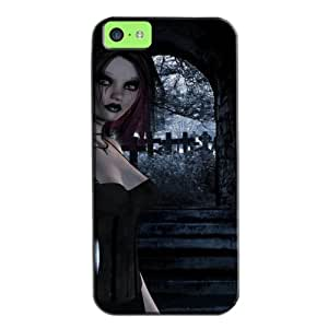 Fashion Design Protection For Iphone 5c Case Black HVt7l6