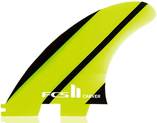 FCS II Carver Neo Glass Tri Quad Fin Set - Large by FCS