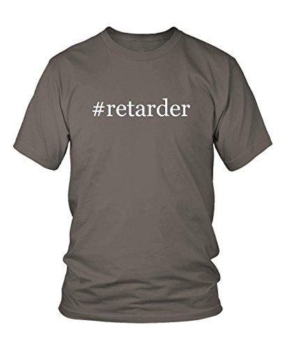 retarder-hashtag-mens-adult-short-sleeve-t-shirt-grey-large