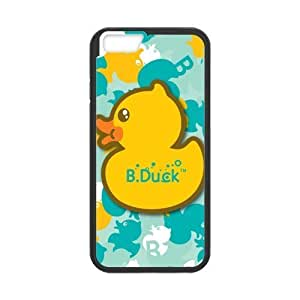 HipsterOne B Duck Logo Custom Case For Sumsung Galaxy S4 I9500 Cover ( Laser Technology)