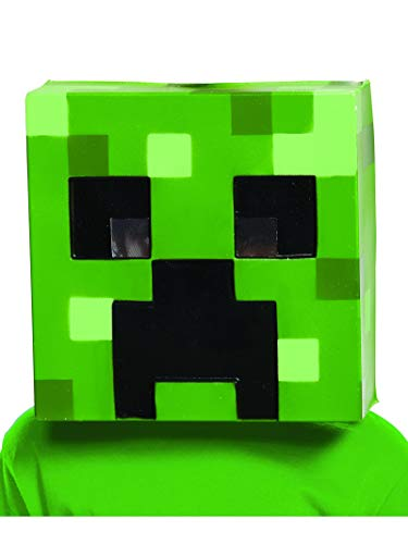 Creeper Minecraft Child Mask -