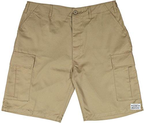 Army Universe Khaki Military BDU Cargo Shorts Pin Size X-Small (Waist ()