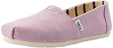 TOMS Canvas Women Classic, Womens Shoes, Purple (Soft Lilac Heritage Canvas), 5.5 US