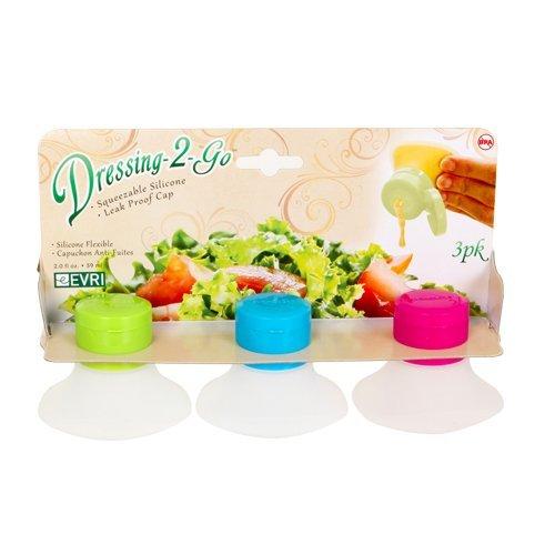 Evriholder Salad Dressing Bottle 2 oz. , Various Colors , by (Evriholder Salad Dressing)