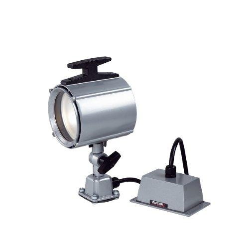 Raw Transformer - Electrix 7701 GRAY Waterproof Machine Light, Halogen, Remote Transformer, Surface Mounting, 55W, 950 Raw Lumens