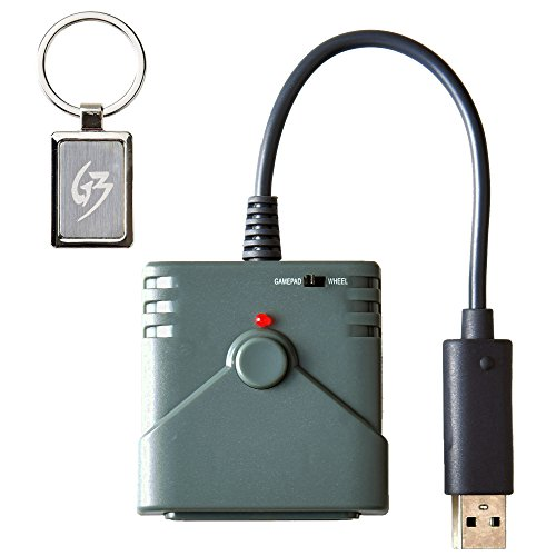 (Gam3Gear BROOK USB Super Converter For PS2 To PS3 PS4 Controller Converter Adapter with Gam3Gear Keychain)