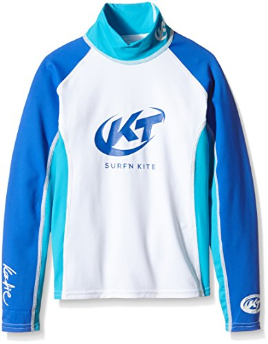 Katie Rashguard Spandex UV-Shirt Kinder langarm Blau UPF 50+ Sonnenschutz (8)