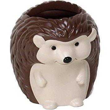 (Mainstays Kids Woodland Creatures Handpainted 3D Resin Hedgehog Toothbrush Holder)