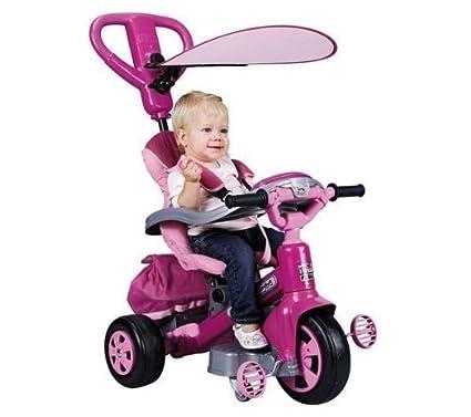 FEBER Triciclo evolutivo Baby Twist 360° Girl + Balón saltador ...