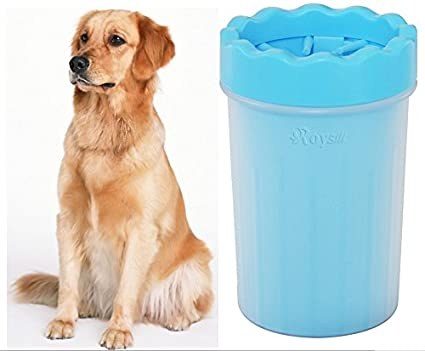 Amazon Com Roysili Extra Large Portable Dog Paw Cleaner Cup Pet