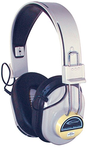 UPC 610356300008, Califone Cordless Headphone Only, Yellow, CLS721